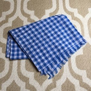 Zara Accessories lightweight gingham scarf